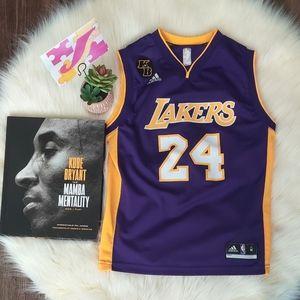 Lakers Kobe #24 Jersey M Youth/S Women's